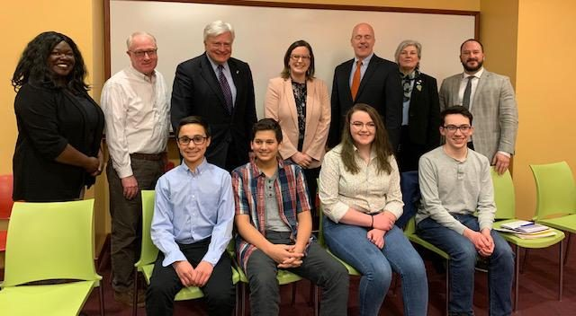 YEA! students enjoyed a CEO panel discussion in the Fall of 2019 at FLCC