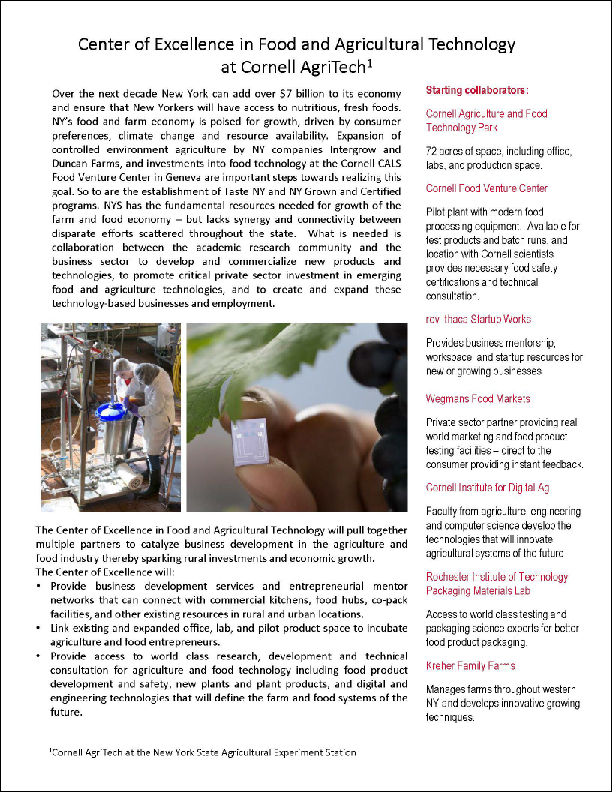 center-excellence-food-agricultural-technology-cornell-agritech-geneva