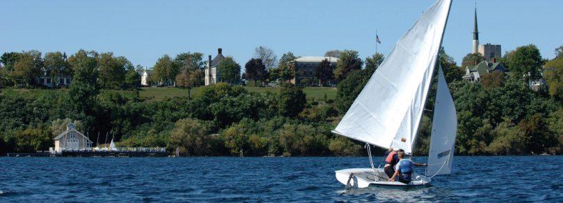 Sailing Seneca Lake in Geneva, New York